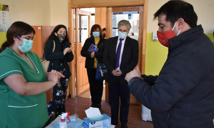 Acto Día Educación Tecnico Profesional en Magallanes. Visita al Liceo Sara Braun